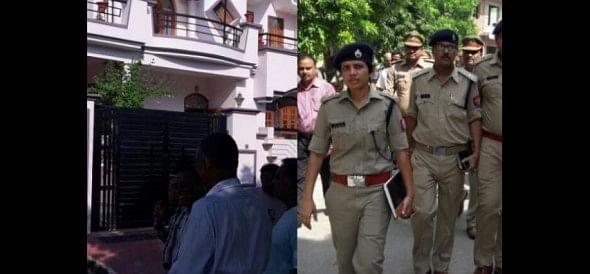 Robbery in gomati nagar Lucknow.