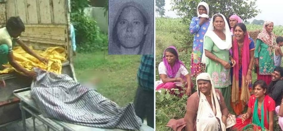 daughter mother-in-law murdered by family in panipat, naked dead body found in plot