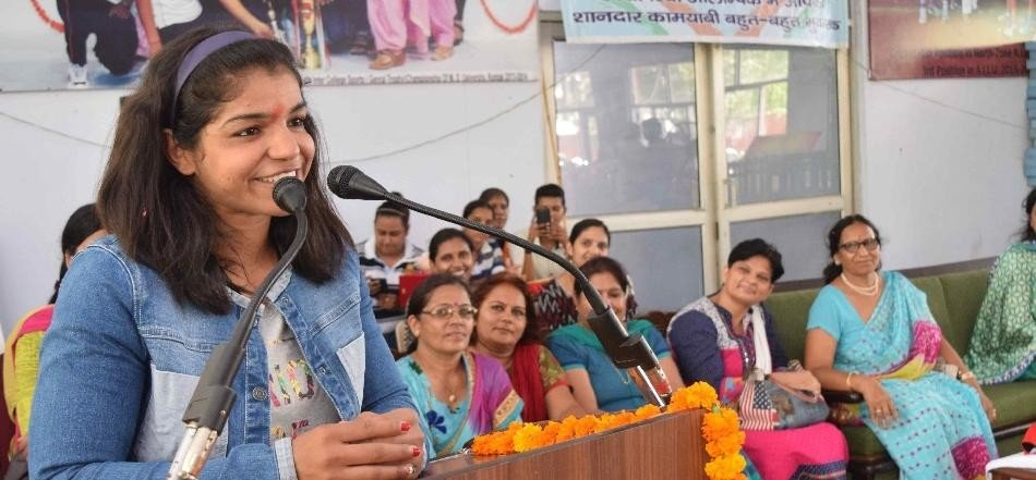 after rio olympic, challanegs for wrestler sakshi malik as brand ambassador of beti bchao campaign