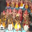 Eco friendly ganpati statue made in kanpur