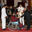 Vinesh Phogat Won The Heart From Wheelchair in Durbar Hall