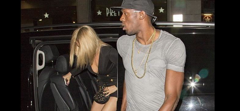 Usain Bolt Awarded Gold Medal To 3 Women For Flashing Their Breasts