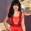 daisy lowe goes braless in an dancing show launching party