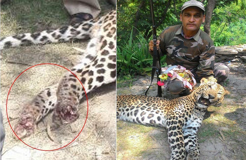 Man Eating Leopard Of Rudraprayag Marathi