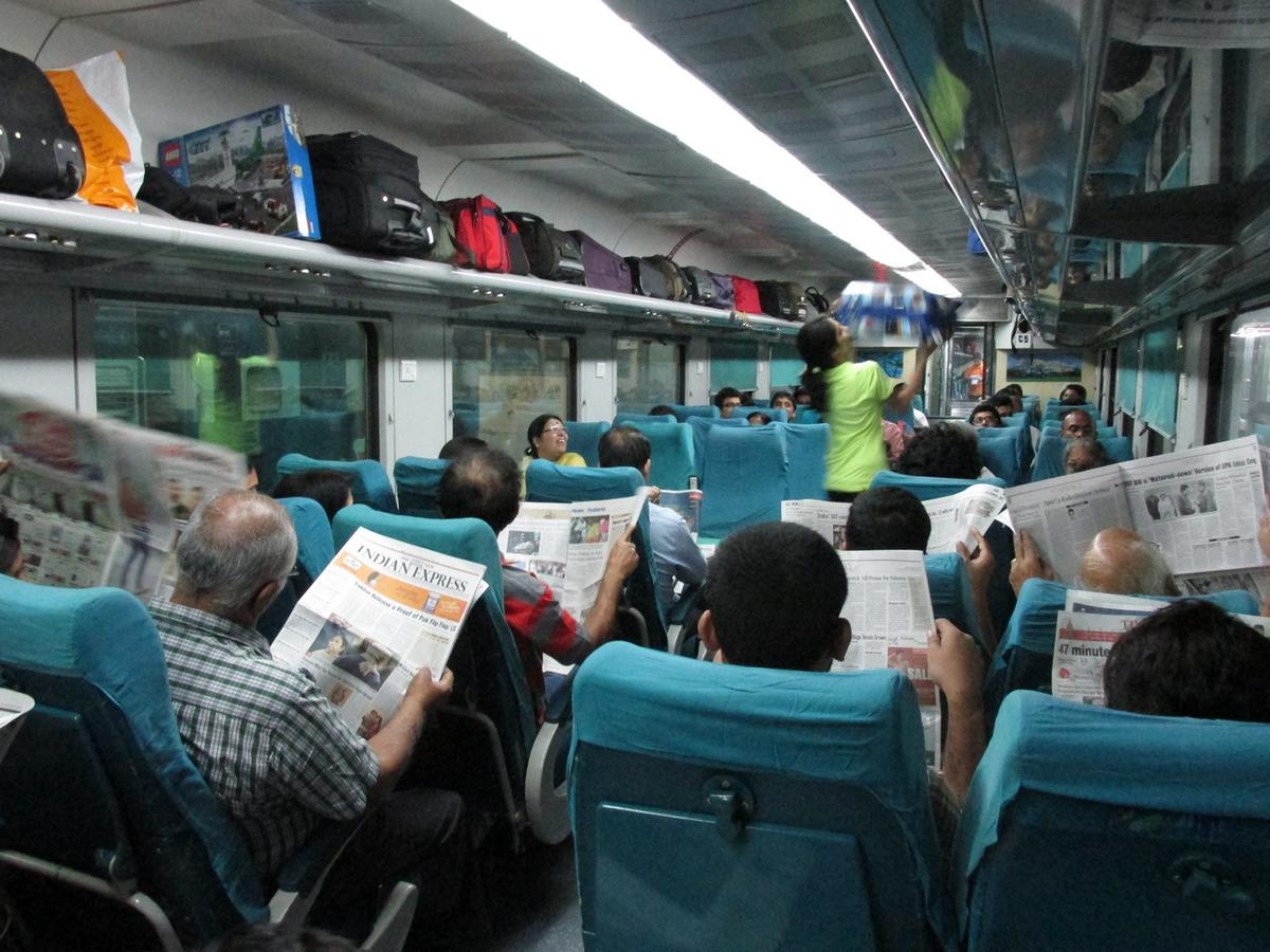 railways to slash fares of shatabdi express to boost passengers occupancy