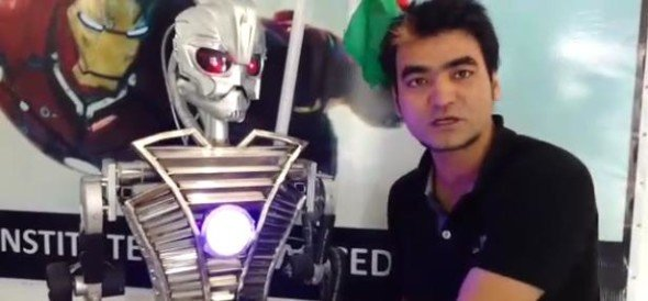 Robot made specially for assembly elections in dehradun