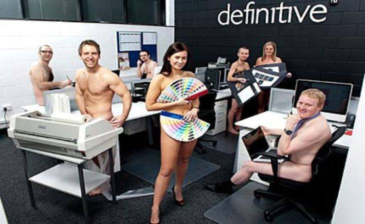 Naked Employees in Software Company