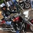 harley davidson rally, indian first lady biker diksha puri resident panchkula