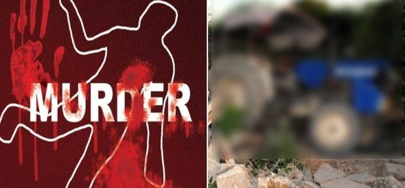 Murder In Ferozpur for property, murdered with tractor