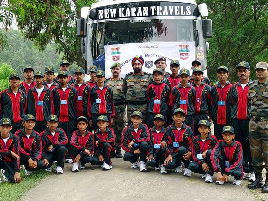 story of army goodwill school in kashmir