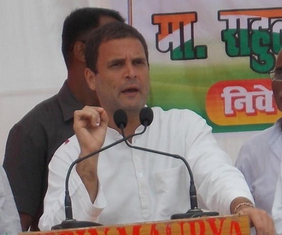 rahul gandhi will start its assembly election campaign from delhi talkatora stadium