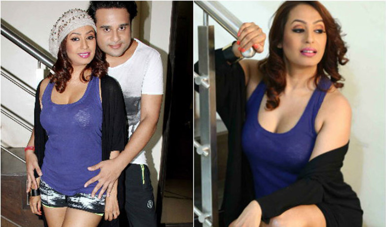 kashmira shah doing bold photoshoot with her husband