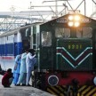 Away from the border, cheers greet train from Pak