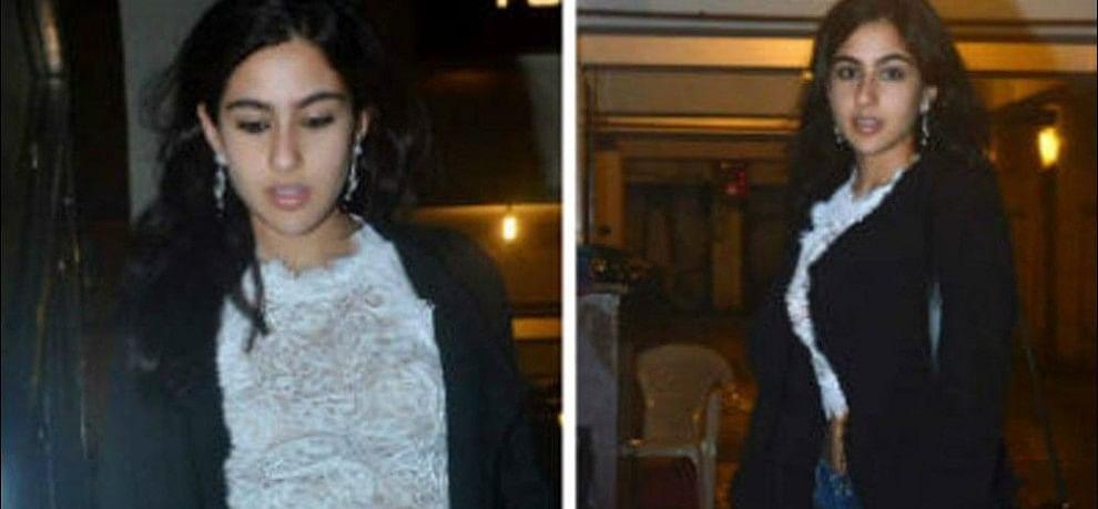 amrita singh dont like sara in short dress