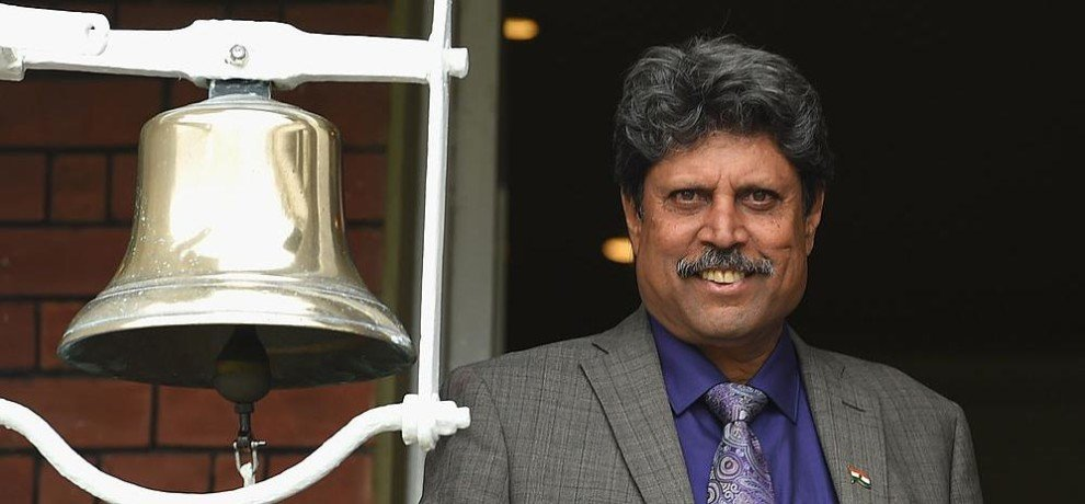 Kapil Dev Rings Bell to Open India's 250th Home Test