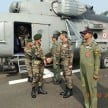 army chief met commodos of surgical strike