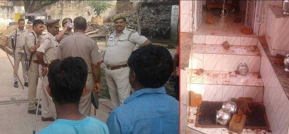 communal tension in uttar pradesh's bulandshahr