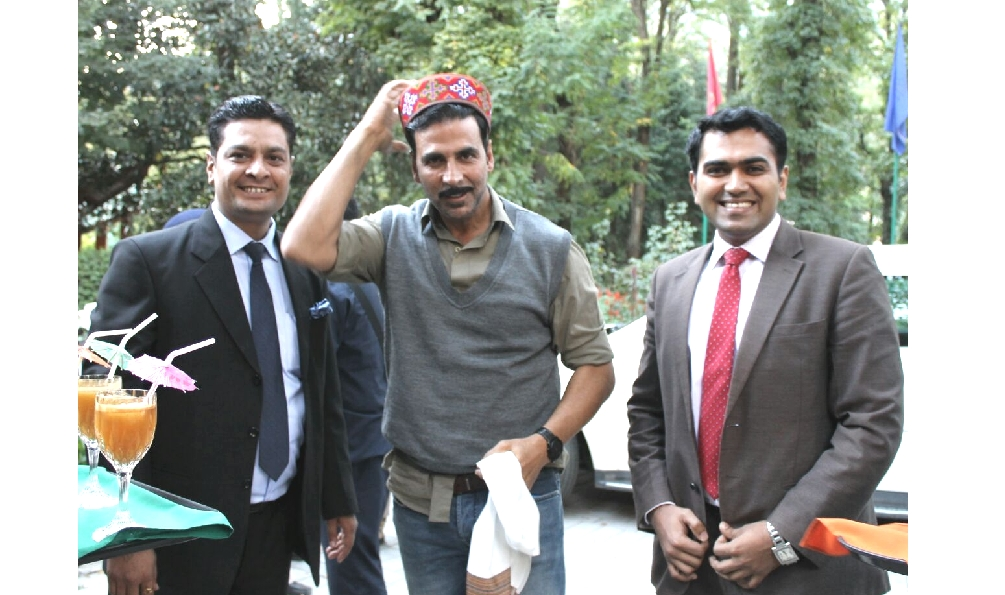 Akshay Kumar At Manali, Shooting of Jolly LLB.