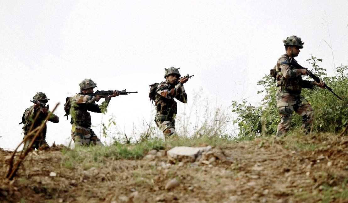 ARMY MAN INJURED IN BLAST IN LOC IN NOWSHERA POONCH