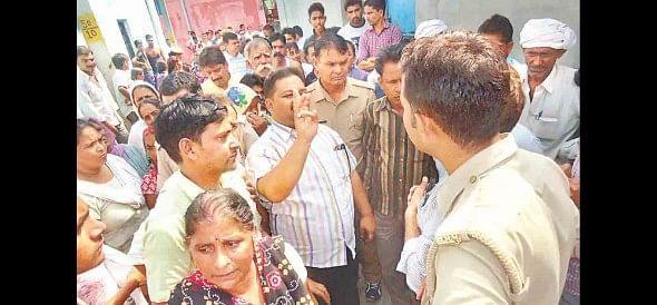 jhajjar, hight tension,  jhajjar news