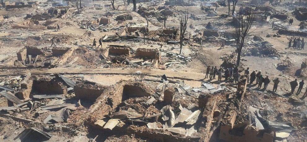 84 houses burnt in kishtwar
