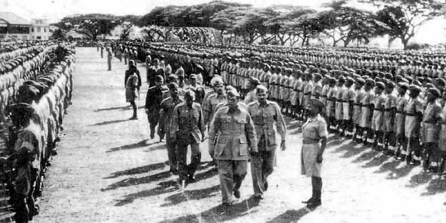 आजाद हिंद फ़ौज 75वी जयंती