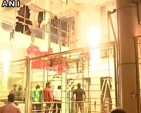 Orrisa: fire in medical college ICU