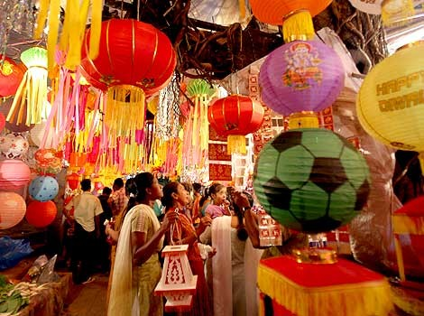 Sales of Chinese gift items fell by 30 per cent