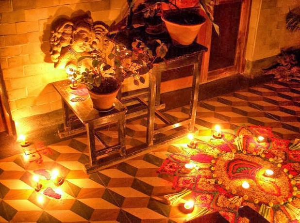 deepawali: lakhsmi and money according vishnu puran