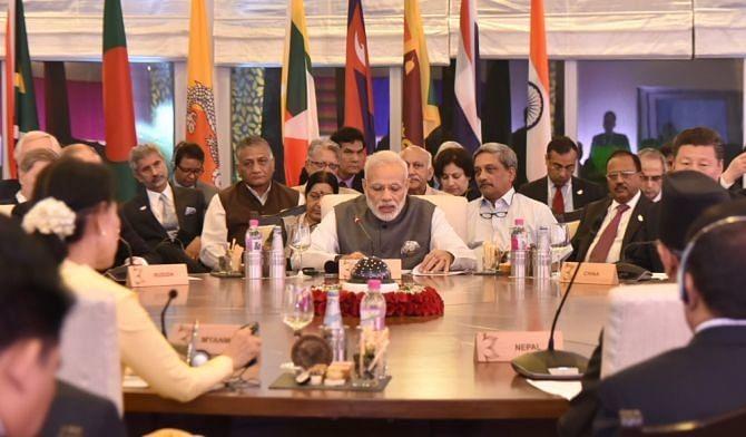 PM modi's Brics-Bimtec diplomacy