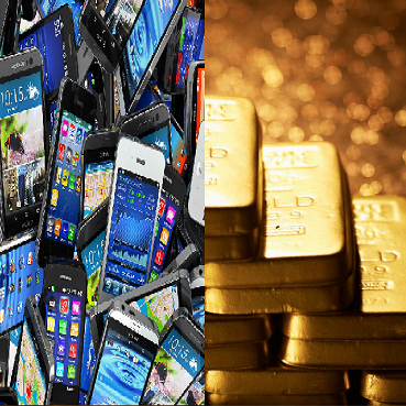 Do you know gold comes out of your smartphone