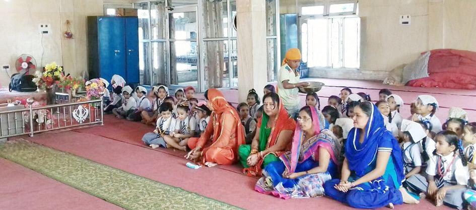 Children gurdwara Teka Forehead, Cka anchor