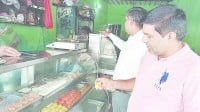 Health Department raided sweets shops, Karnal