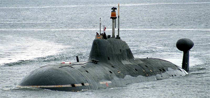India Signs Up For Second Russian Akula-Class Nuclear Attack Submarine