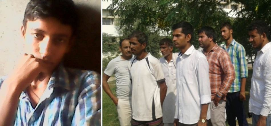 iti student thrown by boys from running bus in kaithal, died on the spot