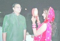karwa chauth, moon, womens celebrated, kaithal