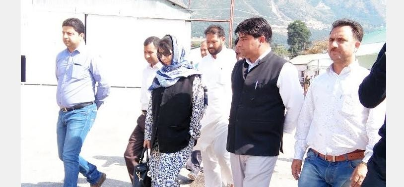 Mehbooba Mufti had visited Kishtwar