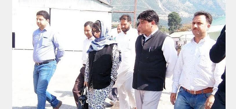 Mehbooba Mufti had visited Kishtwar