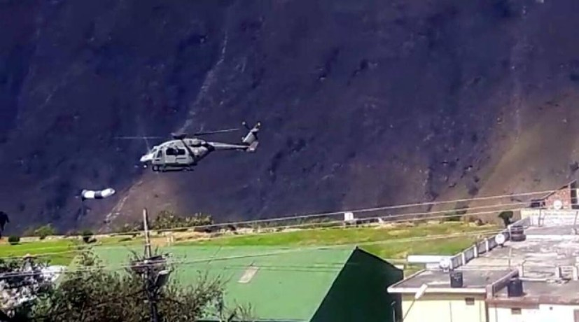 MI 17 crash in army drill in uttarakhand
