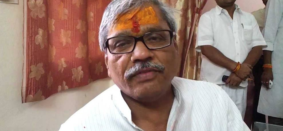 bjp leader prabhat jha admitted in aiims