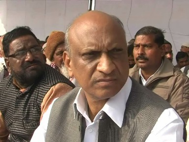 Former UP minister surrenders before court in Varanasi