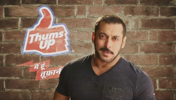 Coca Cola outsted Salman from Thumps up advertisement