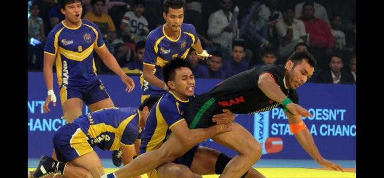 thailand won last match of kabbadi world cup reached in to semifinals