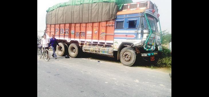 Truck thrashed nephew, uncle serious