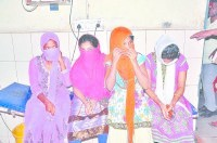 panipat, asam four girl arrest