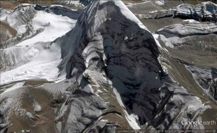 lord shiva shadow on kailash mountain video viral