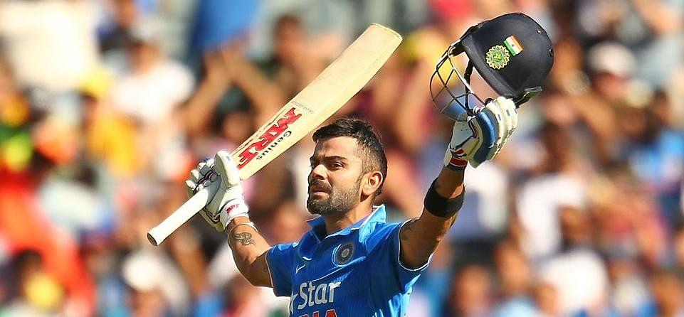 Kohli Scoring Runs Above Average of 100 in Year 2016 in ODI and T20s