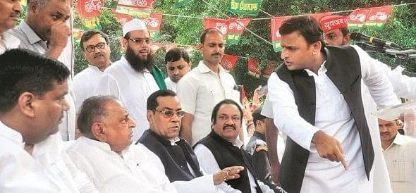 akhilesh yadav statment on mulayam singh after party meeting