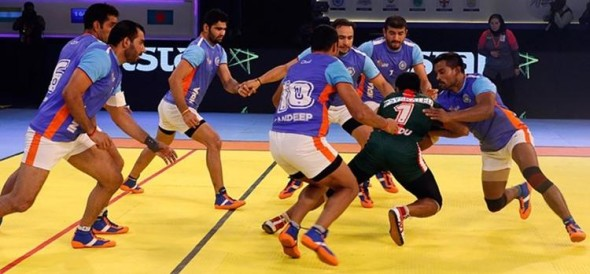 India Thrashed Thailand Out Of Kabaddi World Cup Advanced To Finals