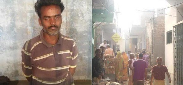 A man murdered his mother in lucknow.